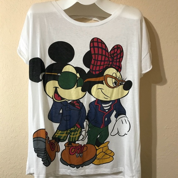 93ede6d2b0a93 Disney Tops - Disney Plus Size Mickey Minnie Mouse Shirt Top 2X